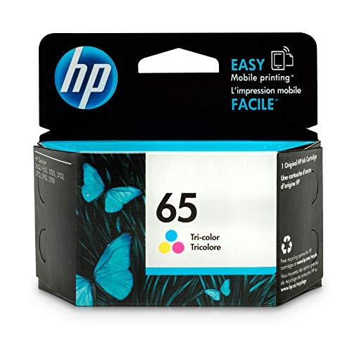 HP 65 Tri-color Ink Cartridge N9K01AN for HP DeskJet 2624 2652 2655 3722 3752 3755 3758