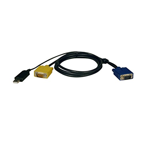 Tripp Lite P776-006 KVM USB Cable Kit for B020/B022 Series Switches – 6ft