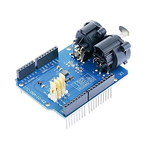 CQRobot DMX Shield MAX485 Chipset for Arduino RDM Capable, Arduino Device into DMX512 Network. LED/Music Remote Device Management Capable, Extended DMX Master and Slave Arduino Device Functions.