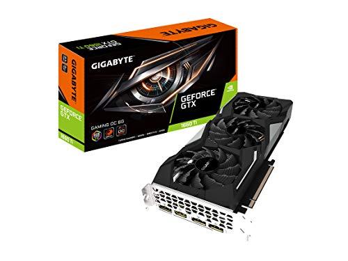 GIGABYTE GeForce GTX 1660 Ti Gaming OC 6G 192-bit GDDR6 DisplayPort 1.4 HDMI 2.0B with Windforce 3X Cooling System Graphic Cards- Gv-N166TGAMING OC-6GD