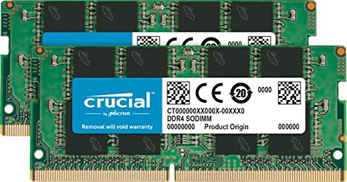 Crucial 8GB Kit 4GBx2, 260-pin SODIMM, DDR4 PC4-19200,