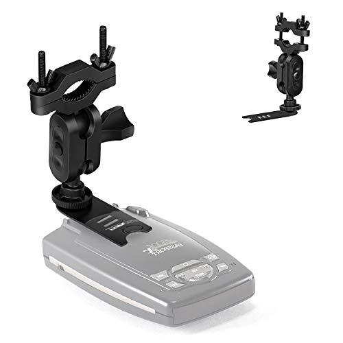 YiePhiot Car Rearview Mirror Radar Detector Mount for Escort Passport 9500ix 9500i 8500 7500 X80 X70 X50 Solo S2 S3 S4 SC 55 s75 Beltronics GX65 RX65 Red Not for Escort IX & MAX Series