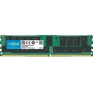 Crucial 32GB, 288-pin DIMM, DDR4 PC4-21300,