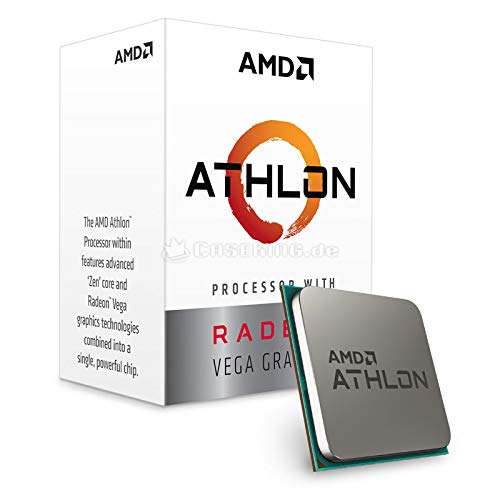 AMD Athlon 240GE with Radeon Vega Graphics Processor YD240GC6FBBOX