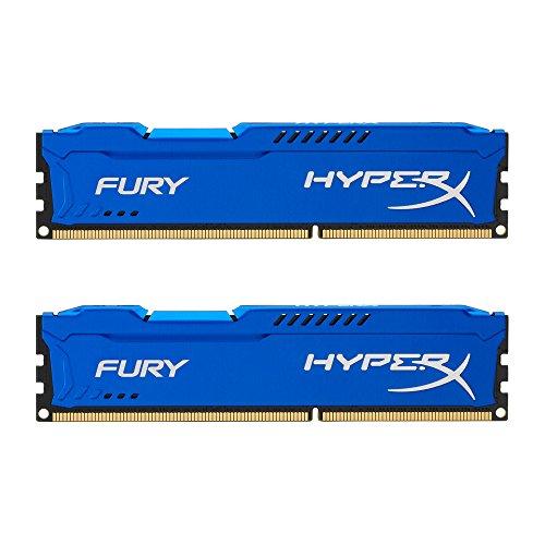 Blue HX316C10FK2/16 – Kingston HyperX FURY 16GB Kit 2x8GB 1600MHz DDR3 CL10 DIMM