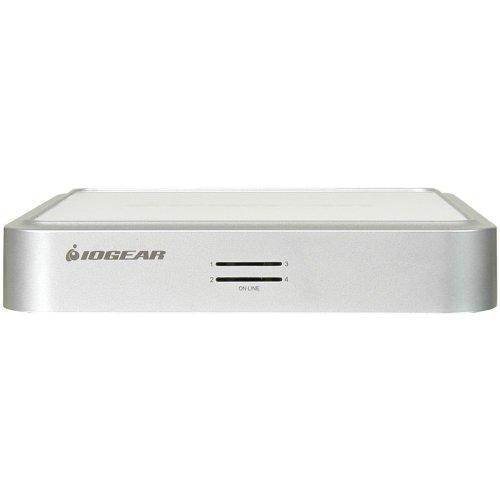 IOGEAR 4-Port MiniView Micro VGA USB KVM Switch with Audio and Cables, GCS634U