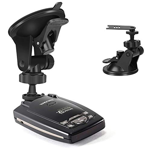 YiePhiot Car Dashboard & Windshield Suction Cup Mount Holder for Escort Passport 9500ix 9500i 8500 7500 X80 X70 X50 Solo S2 S3 S4 SC 55 s75 Beltronics GX65 RX65 Red Not for Escort IX & MAX Series