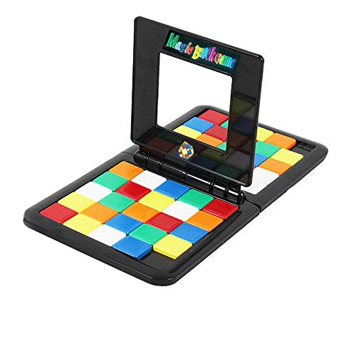 Magic Block Game 2019 Game of Brains Kids & Adults Rubiks Cube Education Puzzle Blocks Table Game Toy for Kids and Adult Black