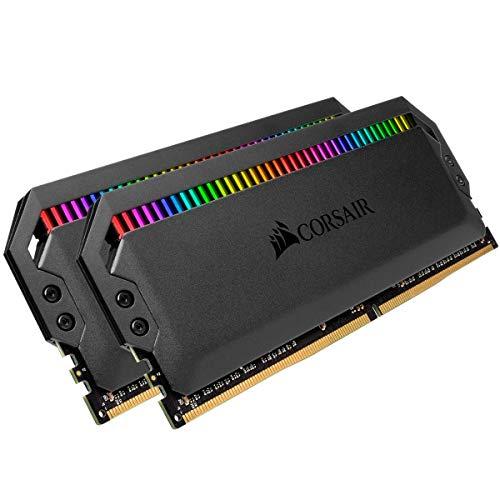 Corsair Dominator Platinum RGB 32GB 2x16GB DDR4 3200 PC4-25600 C16 1.35V Desktop Memory