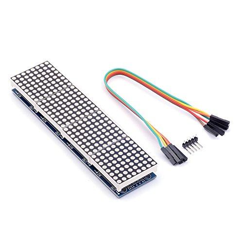 HiLetgo 2pcs MAX7219 8-Digital Segment Digital LED Display Tube for Arduino 51/AVR/STM32 Optoelectronic Products LED Segment Displays