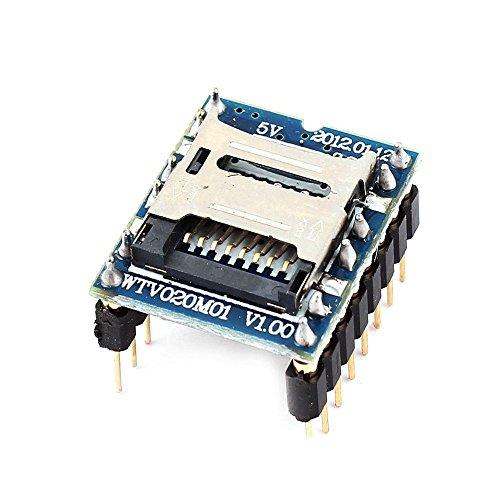 WTV020 WTV020-SD WTV020SD-20SS Mini SD Card MP3 Sound Module For PIC 2560 UNO R3 WTV020-SD-16P by Atomic Market