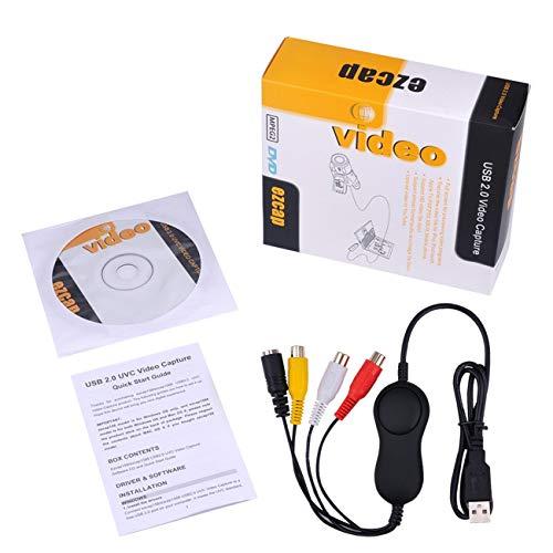 LasVogos USB2.0 HDMI Video Capture HD 1080P Recorder Playback Card with Remote Control