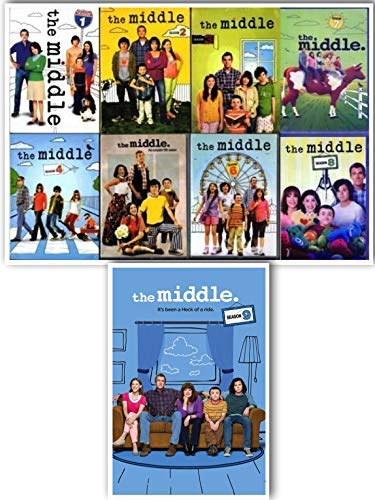 The Middle Complete Series Seasons 1-9 27 Disc DVD Set