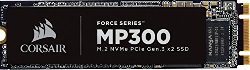 CORSAIR FORCE Series MP300 120GB NVMe PCIe M.2 SSD Solid State Storage