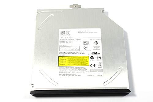 Genuine Dell Slimline Slim CD/RW DVD/RW CD/DVD ± RW SATA Burner Internal Optical Drive For Latitude E6410, E6400, E6500, E6510 and Precision Mobile WorkStation M2400, M4400 Systems. Compatible Part Numbers: XX243, N245K, DU-8A2S, DU-8A3S, F040J, V42F8, 53T72