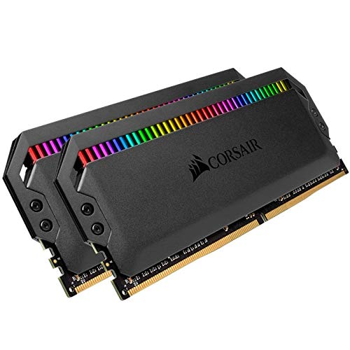 Corsair Dominator Platinum RGB 32GB 2x16GB DDR4 3466 PC4-27700 C16 1.35V – Black