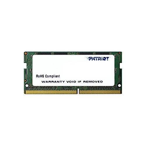 Patriot Memory Signature Line DDR4 16GB 1x16GB SODIMM Frequency: 2400MHz PC4-19200 1.2 Volt – PSD416G24002S