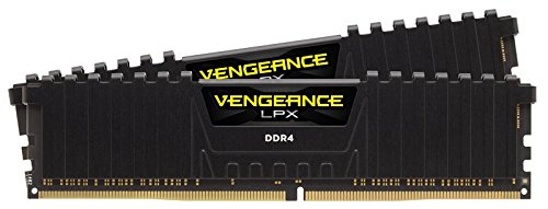 Corsair CMK16GX4M2Z3200C16 Vengeance LPX 16GB 2 x 8GB DDR4 3200 PC4-25600 C16 1.35V for AMD Ryzen Black