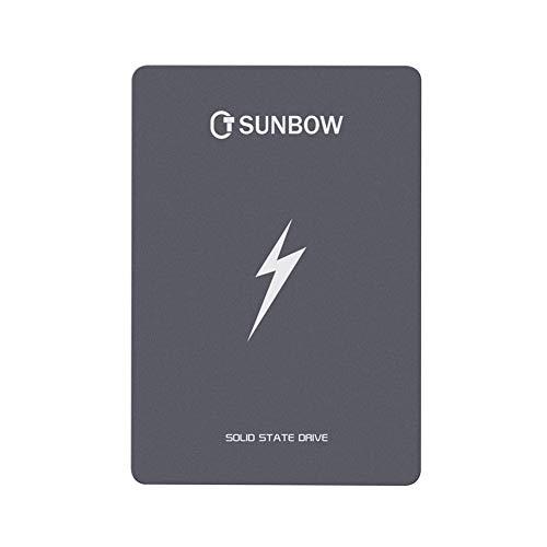 TC SUNBOW 1TB SSD 3D NAND 1024M Cache Performance Boost SATA III 2.5″ 7mm 0.28″ Internal Solid State Drive 1TB