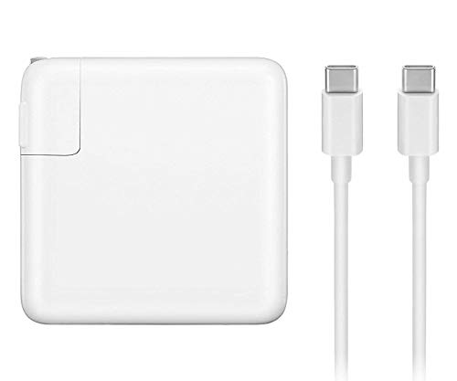 SODYSNAY 61W USB Type C Adapter Charger, Compatible with MacBook Pro 13 inch, 12 inch, MacBook Pro Charger, MacBook Charger USB C, MacBook Air Charger, Laptop Charger, Samsung.