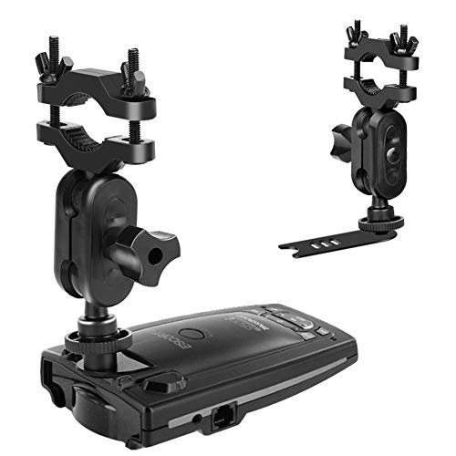 MvToe Car Rear View Mirror Radar Detector Mount for Escort Passport 9500ix 9500i 8500 7500 X50 X70 X80 Solo SC S2 S3 S4 s75 55 Beltronics RX65 GX65 Red Not for Escort IX & MAX Series