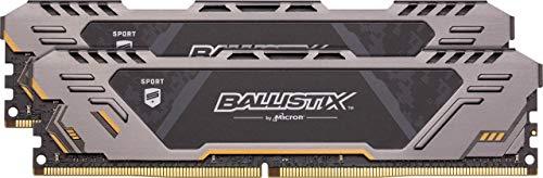 Crucial Ballistix Sport AT 3200 MHz DDR4 DRAM Desktop Gaming