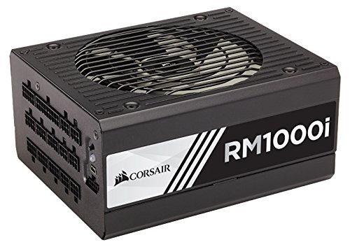 CORSAIR RMi Series, RM1000i, 1000 Watt, 80+ Gold , Fully Modular – Digital Power Supply Renewed