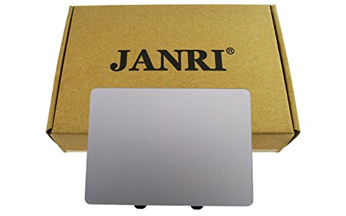 JANRI Replacement Trackpad Touchpad without flex cable For MacBook Pro 15″ Unibody A1286 & macbook 13″ A1278 Mid 2009 2010 early late 2011 Mid 2012 version