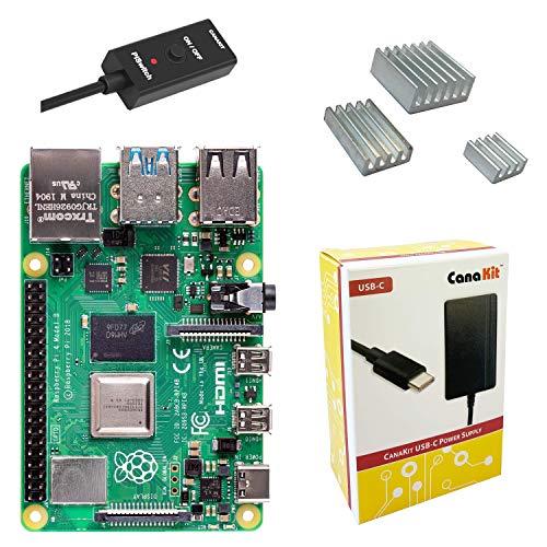 CanaKit Raspberry Pi 4 Basic Kit 4GB RAM