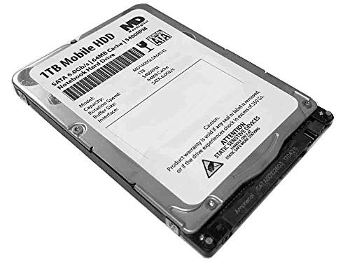 MaxDigitalData 1TB 5400RPM 64MB Cache 7mm SATA 6.0Gb/s 2.5inch Mobile HDD/Notebook Hard Drive – 2 Year Warranty