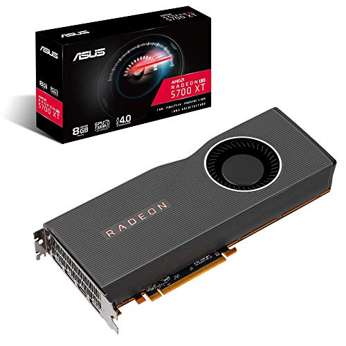 ASUS AMD Radeon RX 5700 XT PCIe 4.0 VR Ready Graphics Card with 8GB GDDR6 Memory and Support for up to 6 Monitors RX5700XT-8G