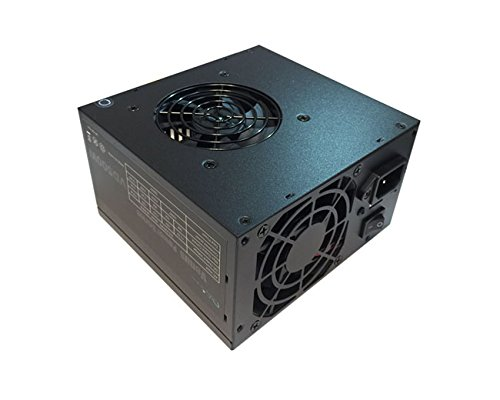 Apevia ATX-AD500W Astro 500W ATX Power Supply with Dual Auto-Thermally Controlled 80mm Fans, 115/230V Switch, All Protections