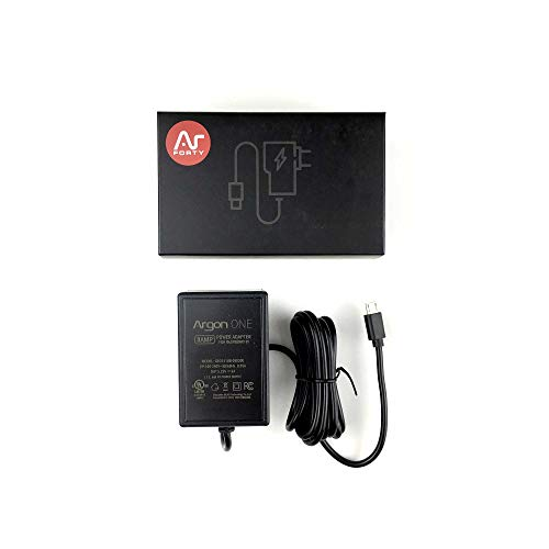 Argon ONE Raspberry Pi Micro USB Cable Power Supply 5.25 Volts 3 Amps | UL Listed