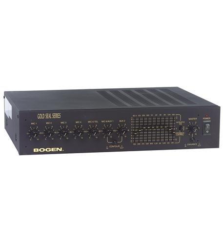 250 W RMS – 6 Channel – Bogen Gold Seal GS250D Amplifier