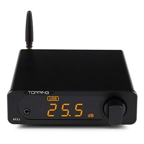 Topping MX3 Built-in Bluetooth Receiver DAC Headphome Amp Digital Amplifier Black