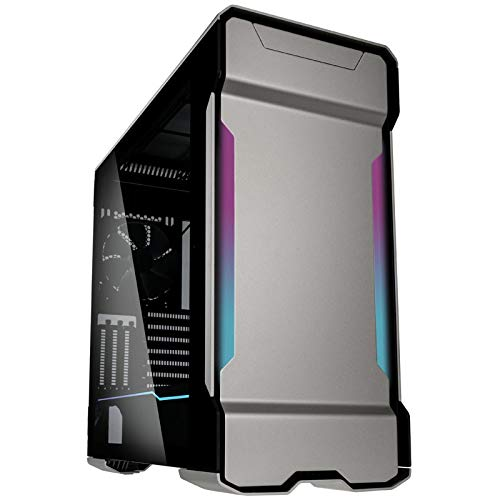 Phanteks PH-ES518XTG_DGS01 Enthoo Evolv X ATX Case Tempered Glass Windows Digital RGB Galaxy Silver