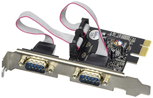 SIIG 2-Port RS232 Serial PCIe with 16950 UART JJ-E02111-S1