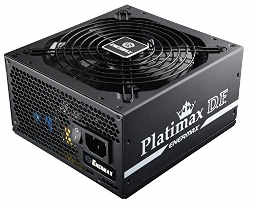Enermax Platimax D.F. 80+ Platinum Certified Full Modular 600W Power Supply with Amazing DFR Technolohy, Individually Sleeved Cable and 13.9cm Twister Bearing Fan, EPF600AWT