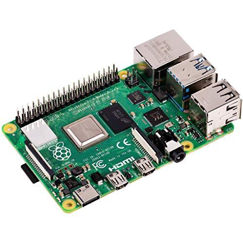 Raspberry Pi 4 Model B 2019 Quad Core 64 Bit WiFi Bluetooth 4GB