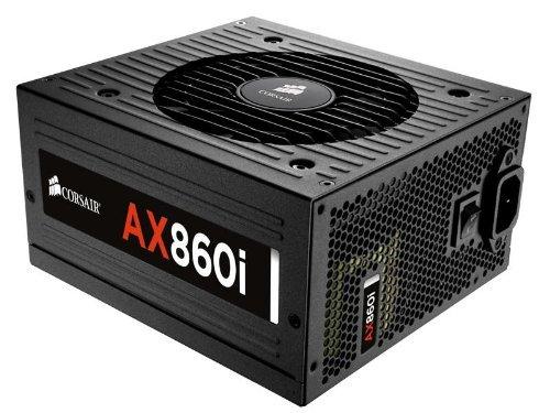 Digital Power Supply Renewed – CORSAIR AXi Series, AX860i, 860 Watt, 80+ Platinum , Fully Modular