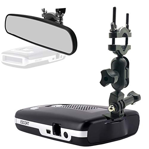 AccessoryBasics Car Rear View Mirror Radar Detector Mount for Escort Passport Max / Max2 / Max 2 / Max II / Max360 NOT Compatible with MAX360C Magnetic Cradle Radar