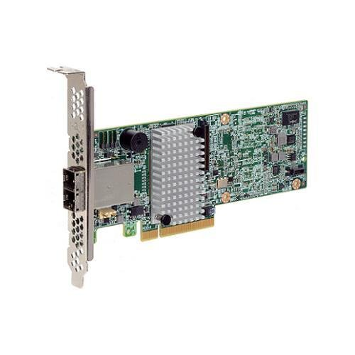 PCI Express 3.0 x8 – LSI MegaRAID SAS 9380-8e / 12Gb/s SAS – 0, 1, 5, 6, 10, 50, 60 RAID Level – RAID Supported – Plug-in Card – 8 SAS Ports / LSI00438 /