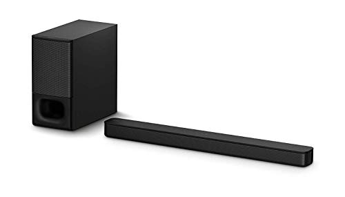 Sony HT-S350 Soundbar with Wireless Subwoofer: S350 2.1ch Sound Bar and Powerful Subwoofer – Bluetooth and HDMI Arc Compatible Bar – Home Theater Surround Sound Speaker System for TV