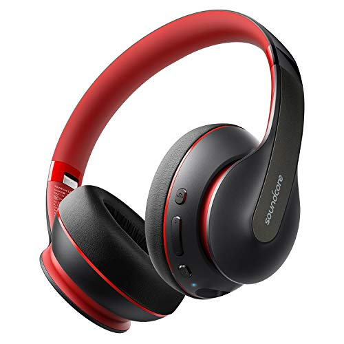 Anker Soundcore Life Q10 Wireless Bluetooth Headphones, Over Ear and Foldable, Hi-Res Certified Sound, 60-Hour Playtime and Fast USB-C Charging, Deep Bass, Aux Input