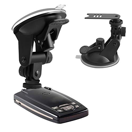 YeeBeny Suction Radar Detector Mount, Windshield & Dashboard Radar Holder for Escort Passport 9500ix 9500i 8500 7500 X50 X70 X80 Solo SC S2 S3 S4 s75 Beltronics RX65 GX65 Red Not for Escort IX & MAX