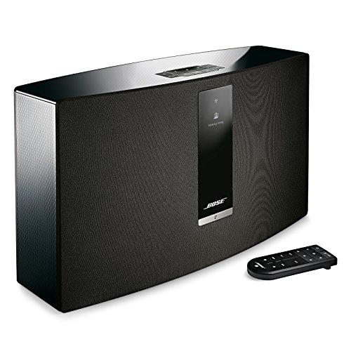 738102-1100 – Bose SoundTouch 30 wireless speaker, works with Alexa, Black