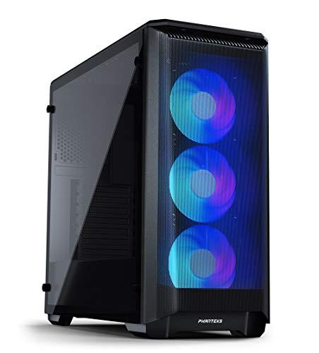 Phanteks Eclipse P400A Digital ATX Mid-TowerPH-EC400ATG_DBK01, Mesh Front Panel, Tempered Glass, Digital-RGB, Black