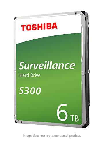 SATA 6 Gb/s 7200 RPM 256MB Cache HDWT360UZSVAR – Toshiba S300 6TB Surveillance 3.5″ Internal Hard Drive