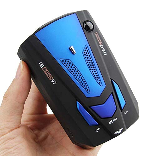MASO 2019 New Car Speed Radar Detector 360 Degree V7 GPS Police Safe Voice Alert 16 Band