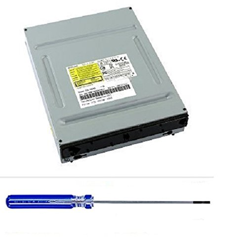 Microsoft Xbox 360 Slim DVD Drive – Phillips: Liteon DG-16D4S DG-16D5S + Torque T10 Security Screwdriver